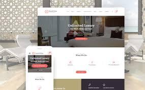 Html5 Website Templates Impressive Resort Hotel Bootstrap Website Template