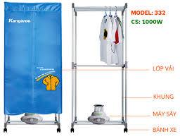 Máy sấy quần áo Kangaroo KG332 Giá Rẻ Nhất 2019