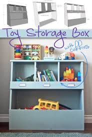 Toy Storage Box with Cubbies: Keep your home organized and your kids' toys  out