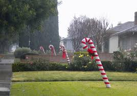 Big Candy Cane Decorations Candy Cane Lane Upland The David Allen Blog 27