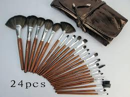 mac professional makeup brush set mac makeup brush set piece face cosmetic brushes tool kits brown