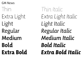 Newspaper Fonts The Magical Power Of Words Intersections Of Content And