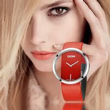 DOM Watch <b>Women</b> luxury <b>Fashion</b> Casual 30 m waterproof <b>quartz</b> ...