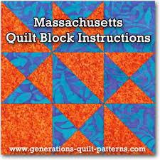 68 Massachusetts Quilt Shops to Inspire You! & Click here for the Massachusetts quilt block tutorial Adamdwight.com
