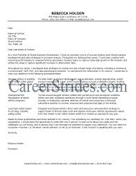 Cover Letter Of Interest As Competitive As An Executive Level Job