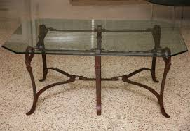 top 61 first rate round glass coffee table wrought iron glass table walnut coffee table