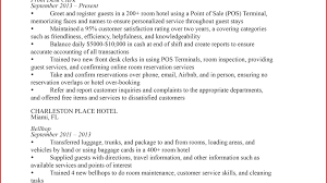 Hotel Job Resume Sample Front Desk Agent Resume Objective Receptionist Sample Office 52