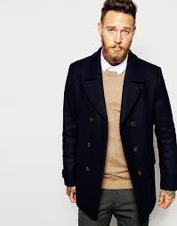 ted baker ted baker wool rich pea coat