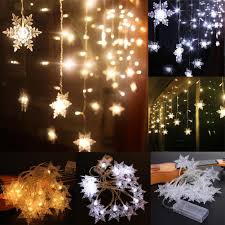 String Light Outdoor Christmas Tree Us 3 78 32 Off 2m 20 Led Christmas Snow Fairy String Lights Wedding Party Garden Christmas Light Outdoor Decor Cool White Warm White In Led String