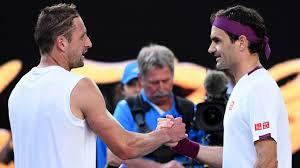 Roger Federer, Tennys Sandgren analyze Australian Open match ...