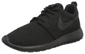 nike running shoes black. nike roshe one rosherun men lifestyle casual sneakers black - 7 running shoes a
