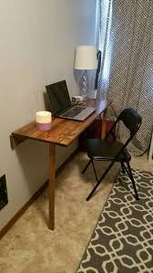 sofa cute foldable desk table 12 diy fold down for small spaces amazing 13