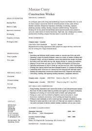 Bricklayer Job Description Resume Best Of Descriptions For Resumes Construction Worker Resume Job Description