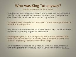 "the curse of king tut s tomb fact or fiction ""death shall come  who was king tut anyway"