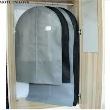 coat storage bags cover protector wardrobe storage bag case for clothes trench coat dress garment suit
