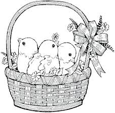 Cute Easter Coloring Pages Seaahco