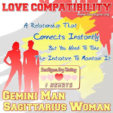 Sagittarius Relationship Compatibility Chart Gemini Man Compatibility With Women From Other Zodiac Signs