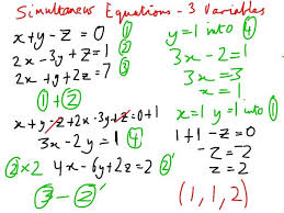 exciting showme solve systems of linear equations in three variables simultaneous solver lastthumb medium size