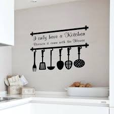 kitchen wall clings kitchen stickers wall decor uk superb kitchen stickers wall decor