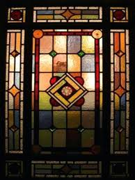 victorian stained glass front door panels