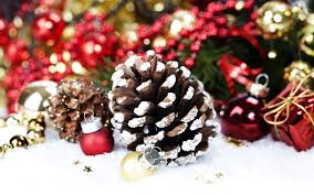 Pine Cone Christmas Decorations Christmas Decoration With Pine Cone By Copyright Natalia Klenova