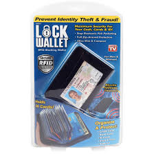 as seen on tv lock wallet
