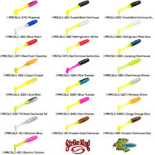 Details About Strike King Panfish Mr Crappie Slabalicious Choose 22 Colors Mrcslc Lures