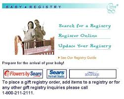 free wedding registry gifts on sears gift registry sears ca wedding baby registry