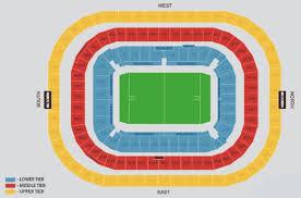 Twickenham Stadium Detailed Seating Chart Twickenham Stadium