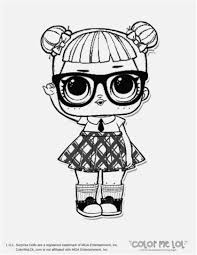 Lolprise Coloring Pages Free Colouring Printable Dolls Print Out For