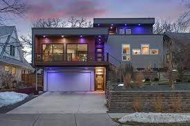 Ultra modern house Impressive The House Has Led Smart Lighting Inside And Out Foekurandaorg Ultramodern 1399m House In Linden Hills Lights Up The