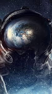 330035 Astronaut, Outer Space, Planet ...