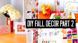Diy Fall Decorations Diy Room Decor For Fall Spice Up Your Room With Cheap Tumblr