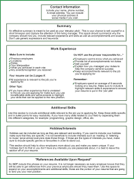 Hobbies And Interests On Resume Examples New Template Online A How