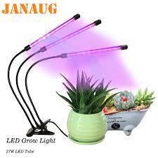 House Plant Led Grow Light Led Grow Light Full Spectrum For Indoor House Plants Auto On