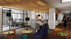 interior design office space. 3d interior design rendering for office space s
