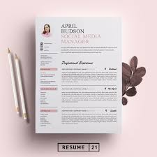 Social Media Resume Template / CV - Resumes