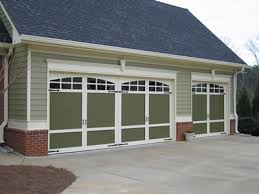 Modern Faux Carriage House Garage Doors B11 for Small Home
