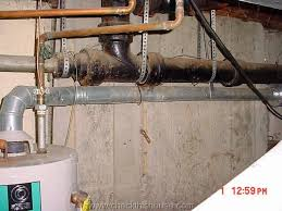 natural draft gas water heater vent pipe pitch