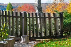 black vinyl picket fence. Black PVC Vinyl Picket Fence From Illusions Traditional-landscape Houzz