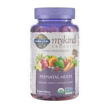 garden of life mykind prenatal multi gummies