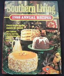 Single Charts 1988 Southern Living 1988 Annual Recipes Hc Cookbooks Old New