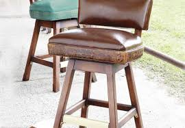 Stools Brown Leather Counter Stools Awesome Leather Counter