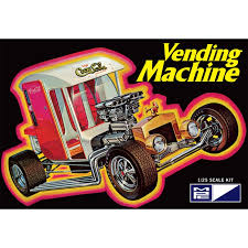 Vending Machine Show Stunning MPC 4848 CocaCola Vending Machine Show Rod Model Kit 8487 Up