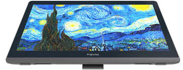Collaborating on a 21.5 inch tablet. All_in_One-PC_2018. The Prowise All-in-One PC