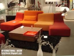 Puzzle Sofa Orange Sofa Interior Design Orange Puzzle Sofas And Orange Sofa