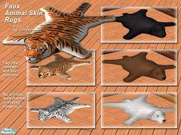 windkeeper39s faux animal skin rugs fake animal skin rugs for