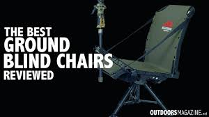 chair blinds for deer hunting the best ground blind chair for hunting outdoors blinds