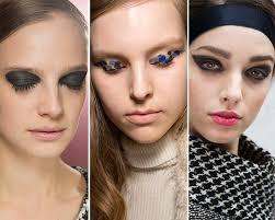 fall winter 2016 2016 makeup trends graphic eye makeup