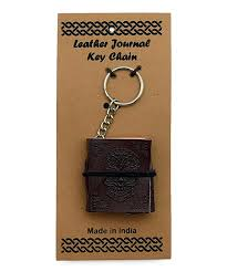 fantasy gifts day of the embossed leather journal key chain zulily